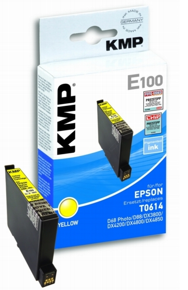 ΣΥΜΒΑΤΟ ΜΕΛΑΝΙ INK EPSON T061440 YELLOW ΚΙΤΡΙΝΟ Ε100 E100 T0614 Stylus D88/D68 Photo/DX 3800/DX 3850/DX 4800